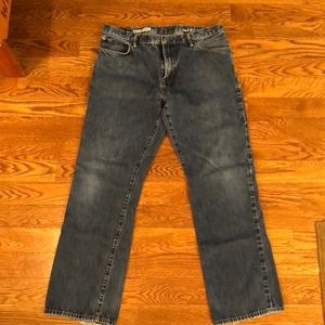 Men's Gap 1969 jeans, 38 x 34